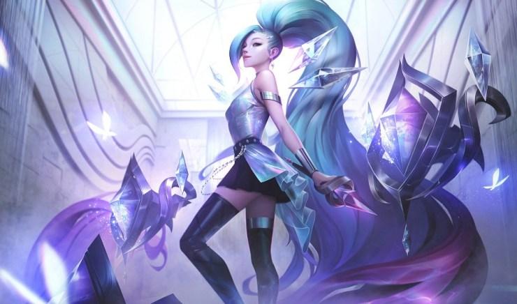 Seraphine K/DA MORE League of Legends