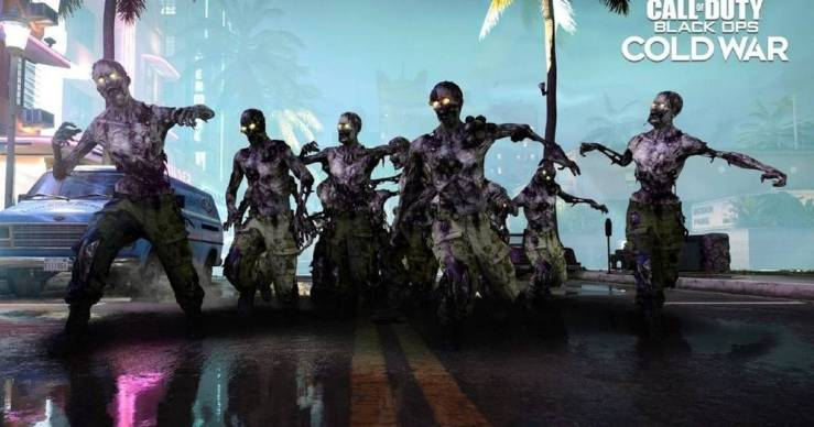Zombies Onslaught Cold War