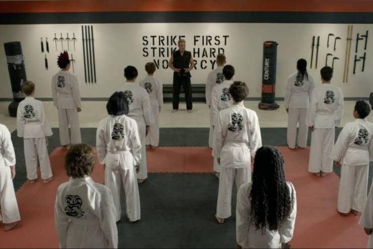 Cobra Kai temporada 3 trailer Karate Kid
