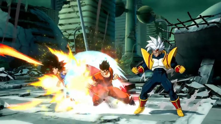 Dragon Ball FighterZ Super Baby tráiler habilidades fecha lanzamiento