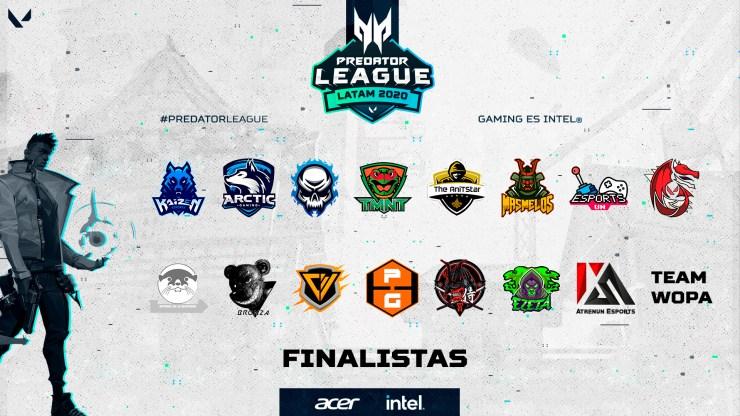 Predator League Valorant finalistas