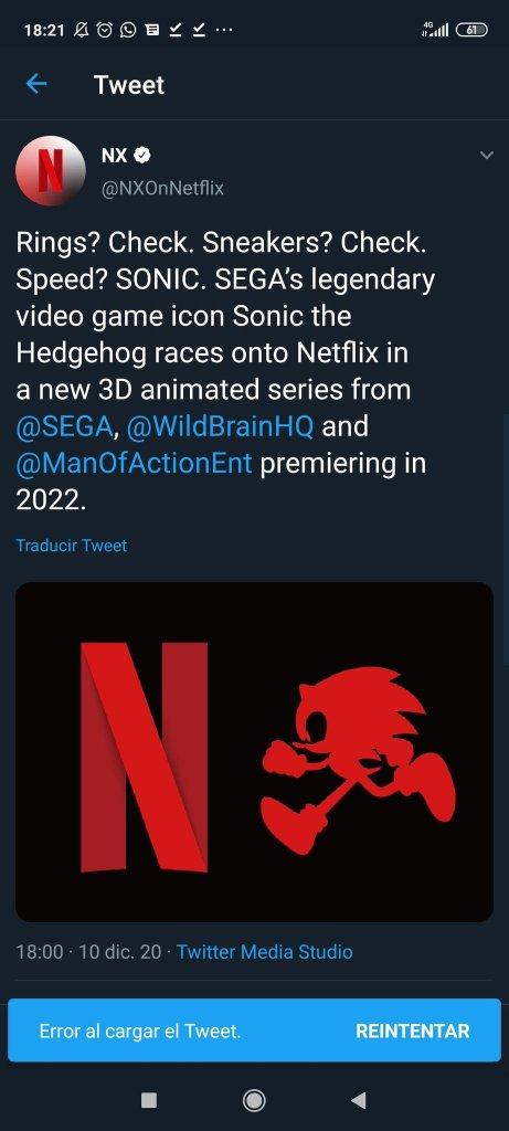 Sonic nueva serie animada 2022 netflix