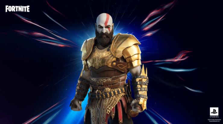 kratos armadura fortnite