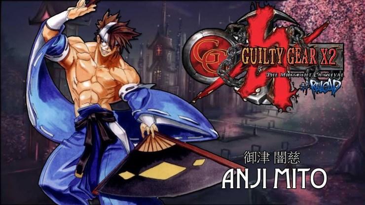 Guilty Gear strive Anji mito tráiler quien es beta abierta