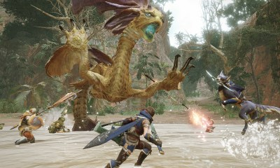 Monster Hunter Rise nuevos monstruos