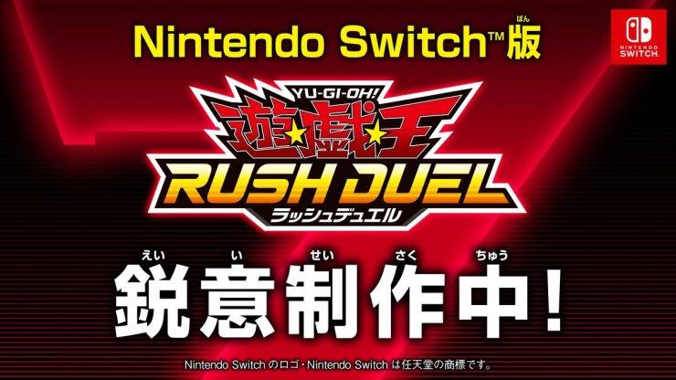 Yu-gi-oh rush duel sevens switch