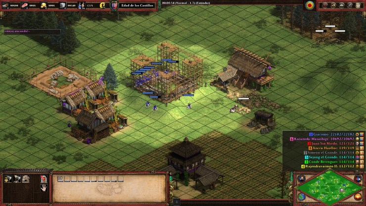 Age of Empires 2 Castillo.