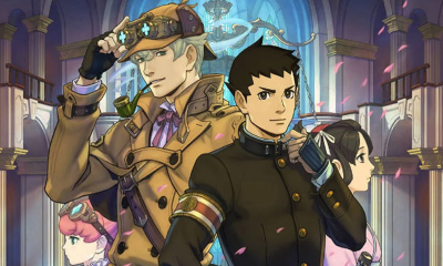 The Great Ace Attorney Chronicles occidente ps4 switch pc