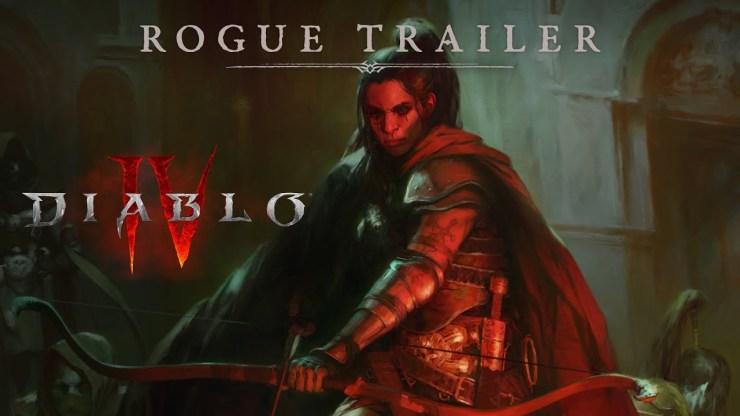 Diablo IV rogue Blizzcon 2021