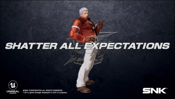 Orochi Yashiro Nanakase KOF XV  The King of Fighters