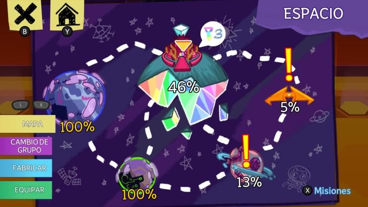 Steven Universe: Unleash the Light libera desata la luz reseña crítica análisis mapa