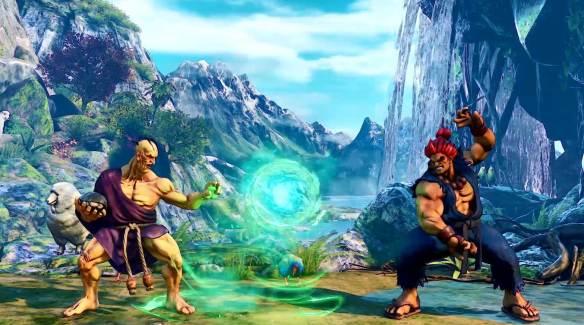 Street Fighter V Akira Oro Rose