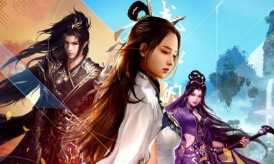 sword of legends online mmo chino china Gu Jian Qi Tan