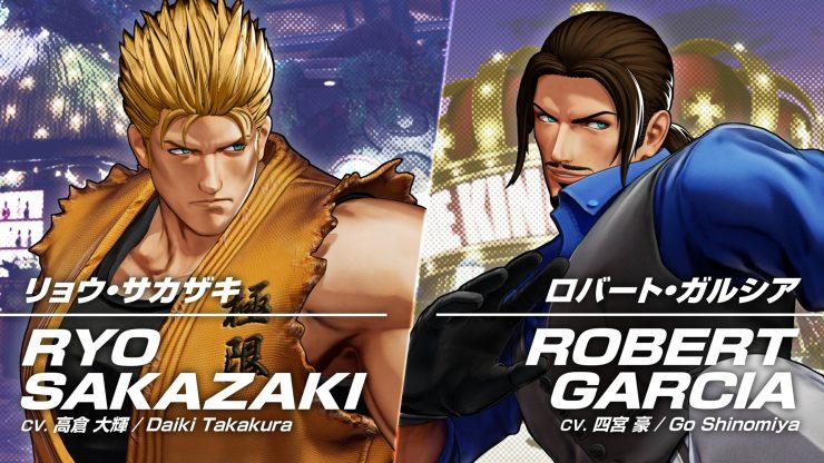 Robert garcia Ryo Sakazaki KOF XV Art of Fighting