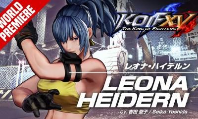 Leona Heidern KOF XV tráiler Team Ikari Movimientos pelea