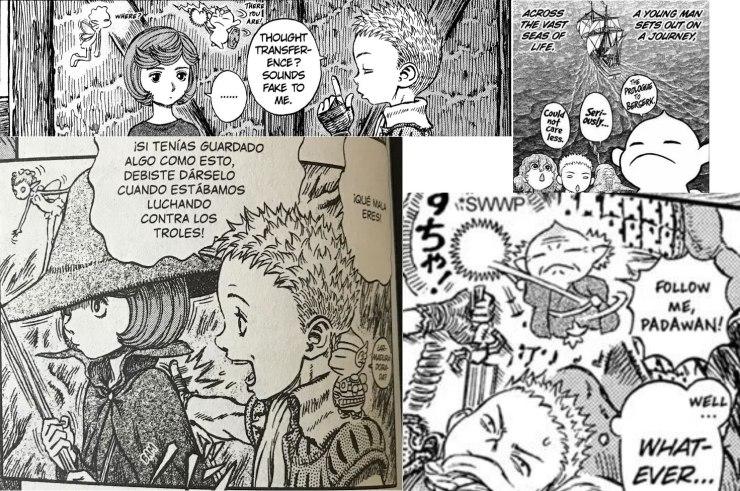 Berserk guía anime manga kentaro miura