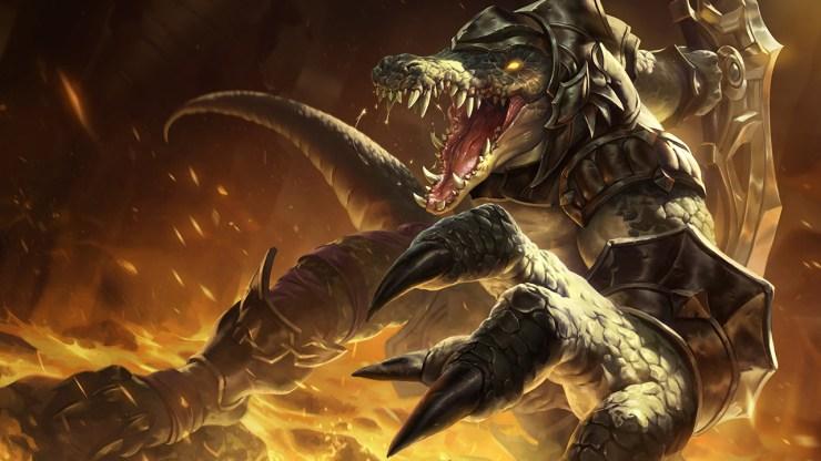 LoL League of Legends Wild Rift versión parche actualización 2.2c Renekton