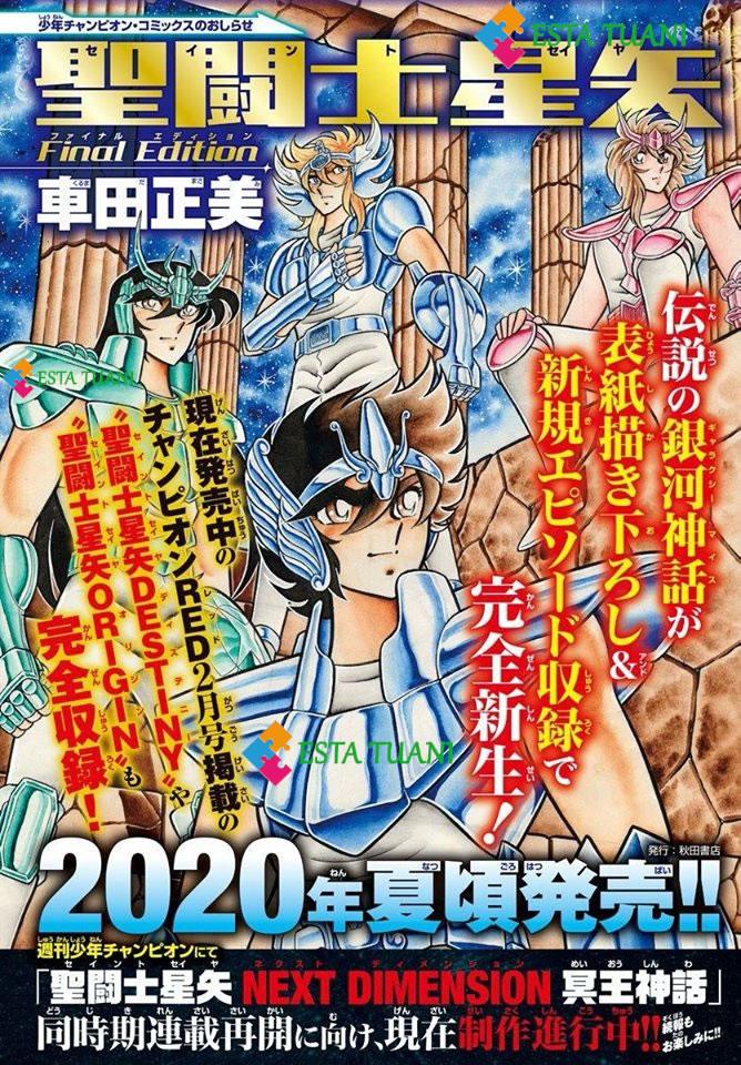 Saint Seiya Next Dimension capítulo 96