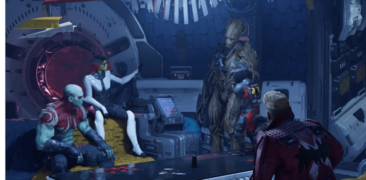 Marvel's Guardians of the Galaxy juego E3 2021 Square Enix