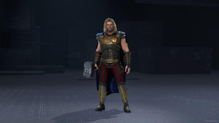 Marvel's Avengers traje trajes steampunk thor juego