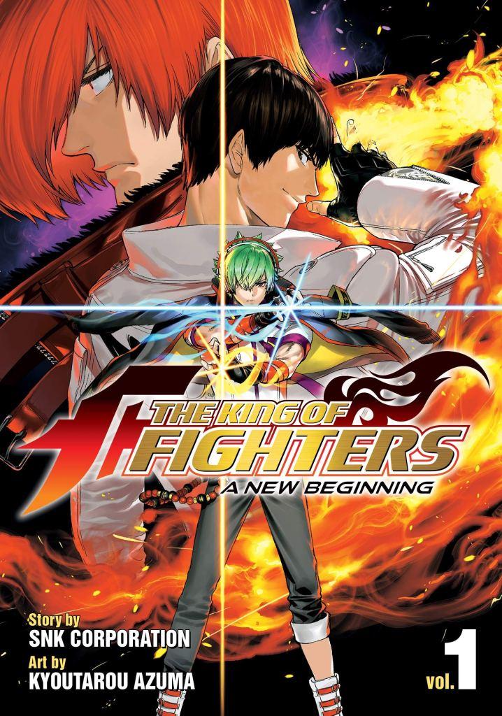 The King of Fighters XV Shingo Yabuki kof manga gaiden