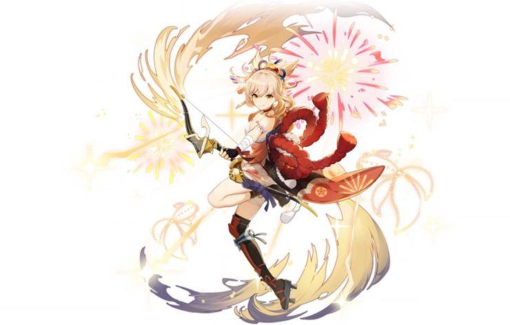 yoimiya Genshin Impact Inazuma, nuevos personajes y armas de la diosa inmutable y la utopía eterna 2.0 actualización