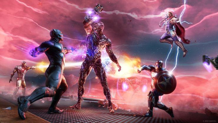 Avengers juego guerra por wakanda war for expansión black panther pantera negra mejoras dlc actualización atuendos Marvel's