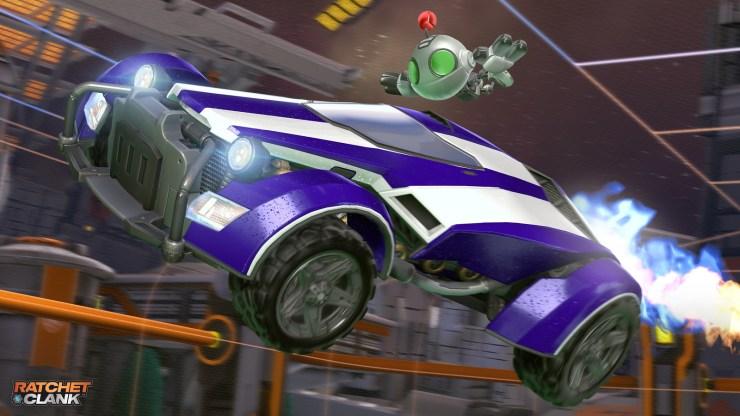 Ratchet y Clank llegan gratis a Rocket League en PlayStation 4 y 5 a 120 fps