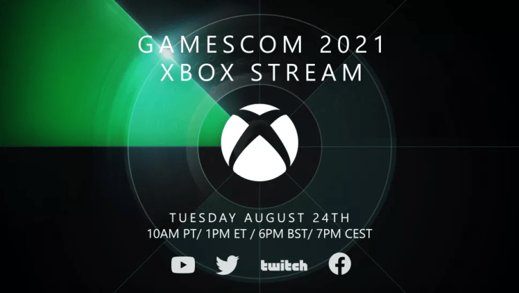 Gamescom 2021 horarios Future Games Show  Opening Night Live xbox