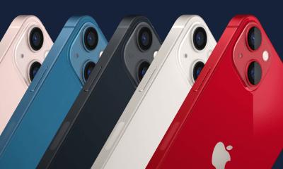 Los nuevos colores de iPhone 13