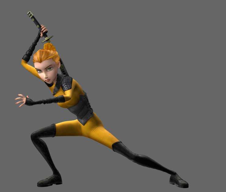 De damisela en apuros a guerrera ninja, la evolución de April O'Neil con las Tortugas Ninja (TMNT)