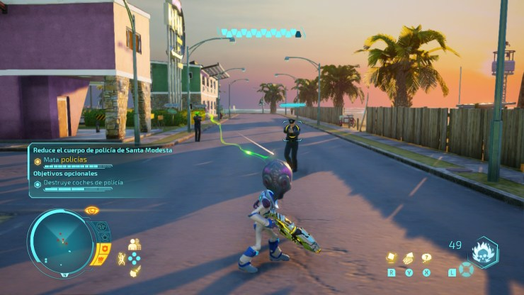 Destroy All Humans Nintendo Switch Reseña crítica análisis opinión