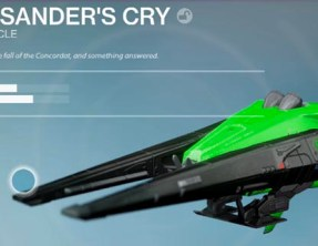 Destiny How to get the Lysander's Cry: Legendary sparrow The Dawning