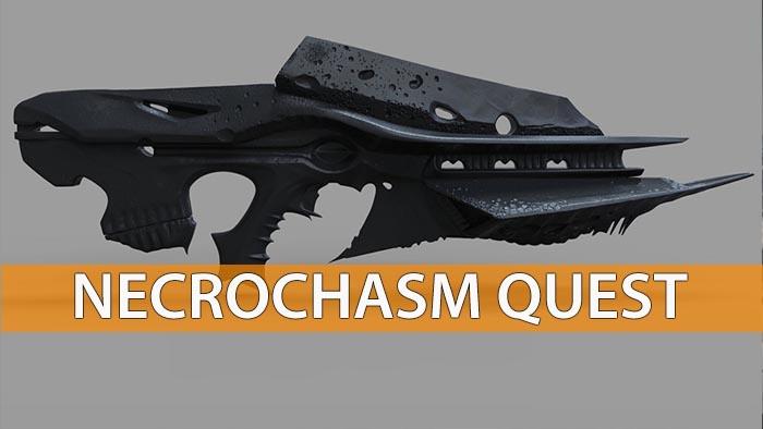 destiny age of triumph how to get necrochasm quest walkthough
