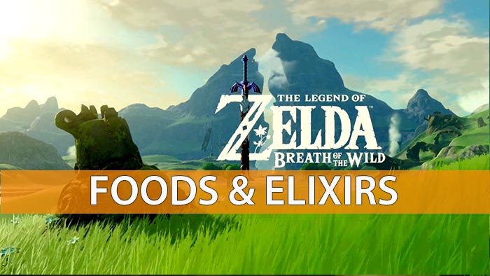 The legend of zelda breath of the wild elixirs and food recipes here are some great recipes forumfinder Image collections
