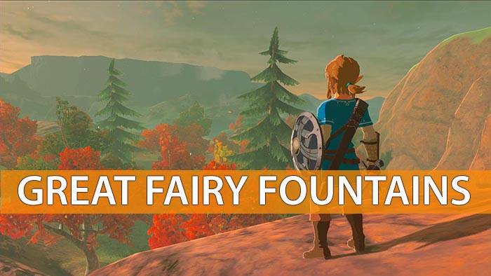 all fairy fountains breath of the wild