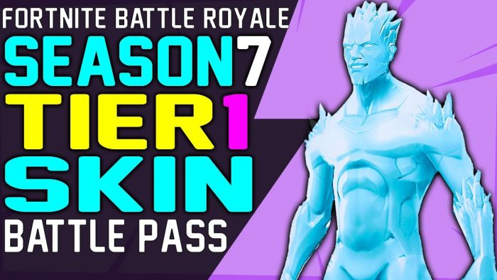 Fortnite Season 7 Battle Pass Skin For Tier 1 Revealed Release Time