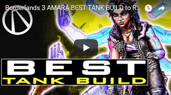 borderlands 3 amara tank build