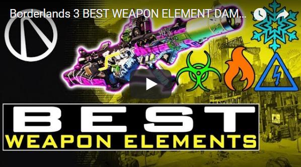 borderlands 3 best elemental weapons
