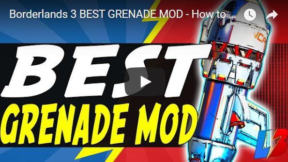 borderlands 3 best grenade mod