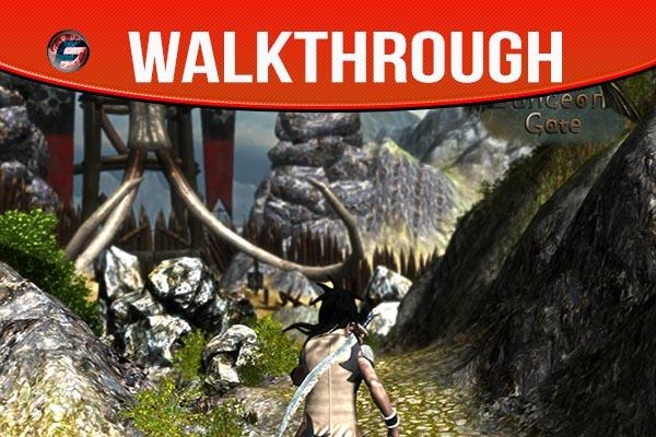 Dungeon Gate walkthrough