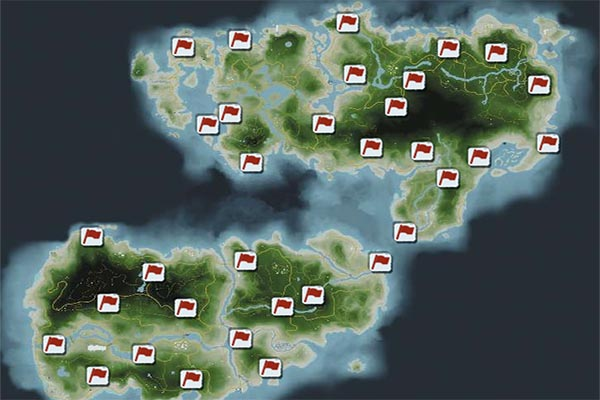 Far Cry 3 Outposts Locations Guide Gamerfuzion