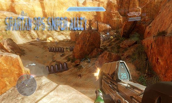 Halo 4 Spartan Ops Sniper Alley Walkthrough