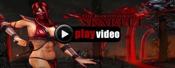 Mortal Kombat 9 Skarlet Fatality Finishing Moves Combos Strategy