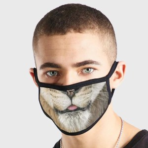 Animal Big Cat Non Medical 3 Ply Face Mask