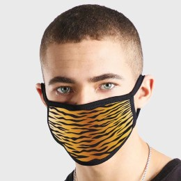 Pattern Animal Skin Wavey Non Medical 3 Ply Face Mask