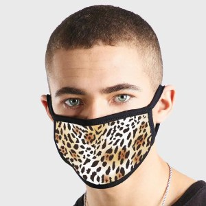 Pattern Leopard Print 2 Non Medical 3 Ply Face Mask