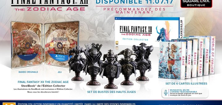 Final Fantasy XII The Zodiac Age édition collector