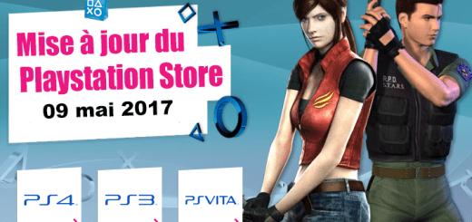 Playstation Store mise à jour 09 mai 2017