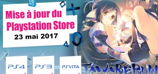 Playstation Store mise à jour du 23 mai 2017